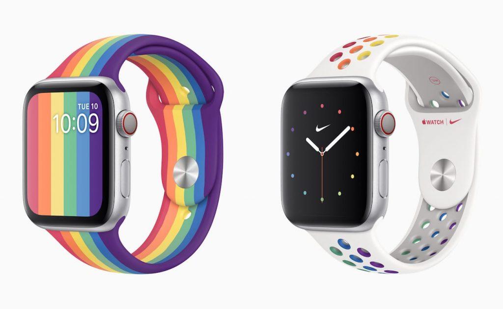 Apple Watchプライドエディション-スポーツバンドを発売