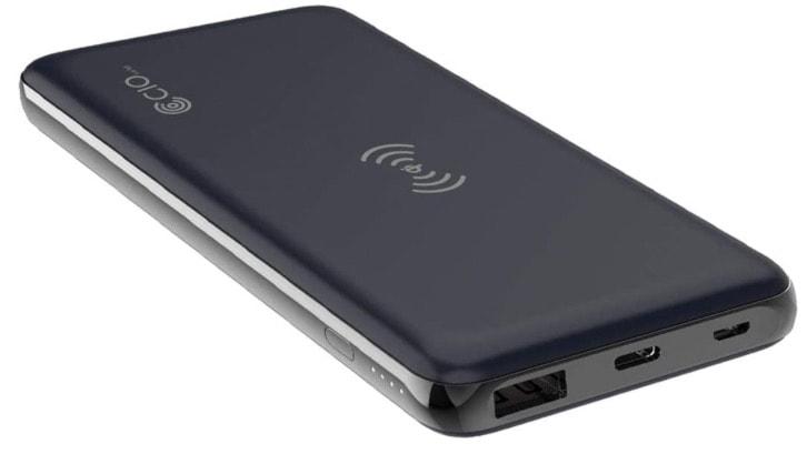 PD3.0&QC3.0対応 Lightnig入力搭載 ワイヤレスモバイルバッテリー1,980円