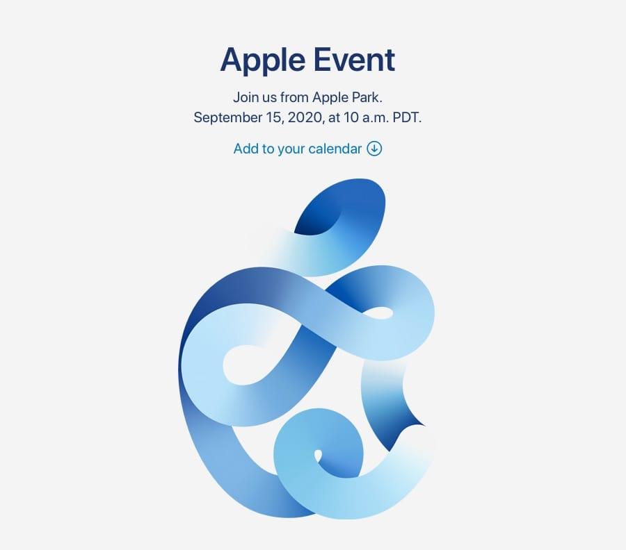 Apple 9月16日(水)午前2時より「Apple Event」開催
