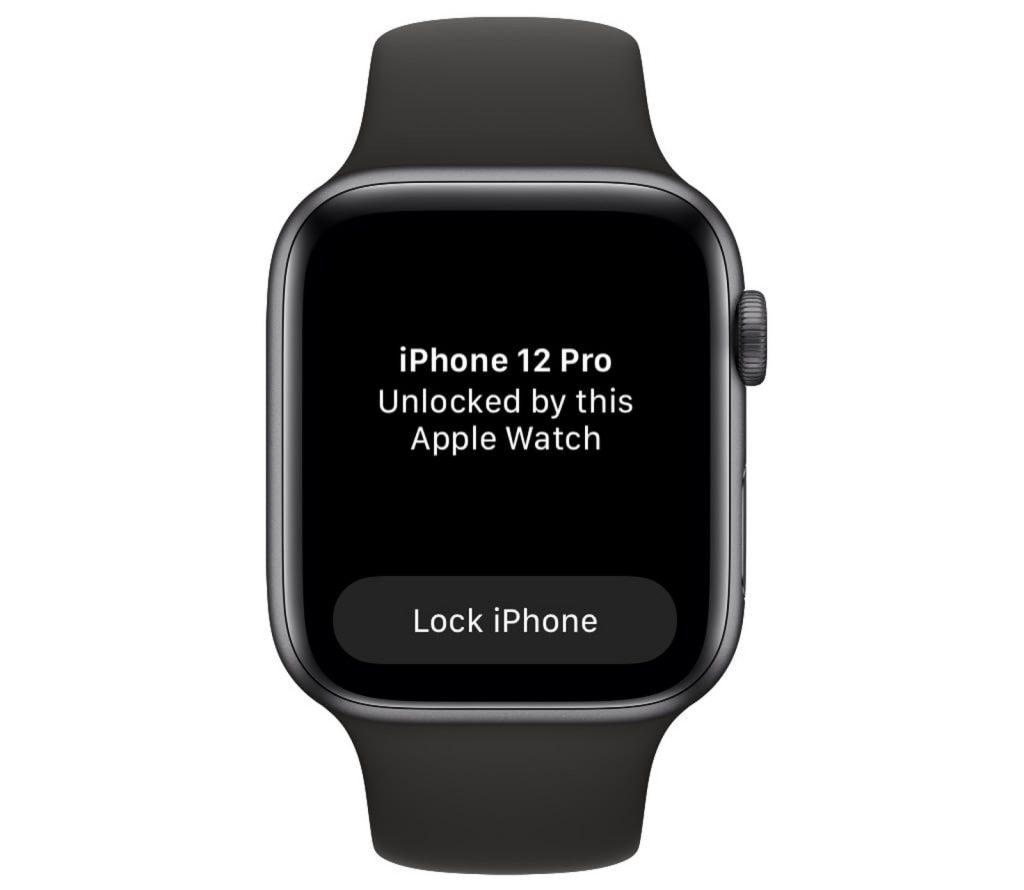 Apple WatchでiPhoneのロック解除 マスクをした状態でもロック解除ができる