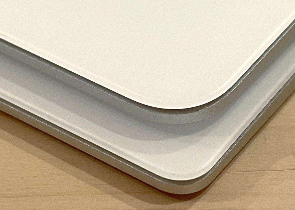 Apple Magic Trackpad 前世代の Magic Trackpadと比較してみた